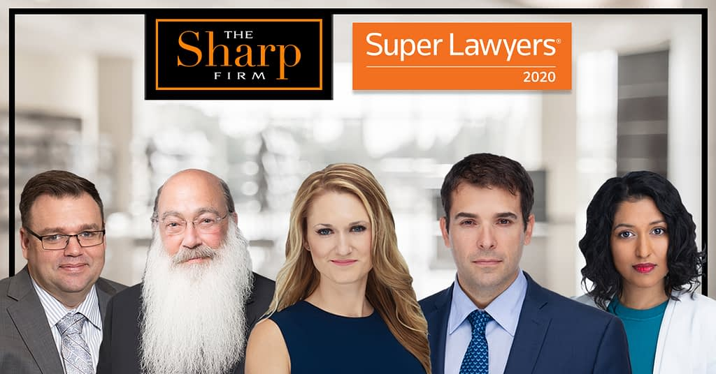 The Sharp Firm: 2020 Super Lawyers Achievements