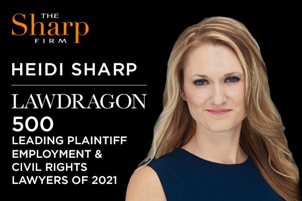 Heidi Sharp - 2021 Lawdragon 500 Leading Plaintiff Employment & Civil Rights Lawyers
