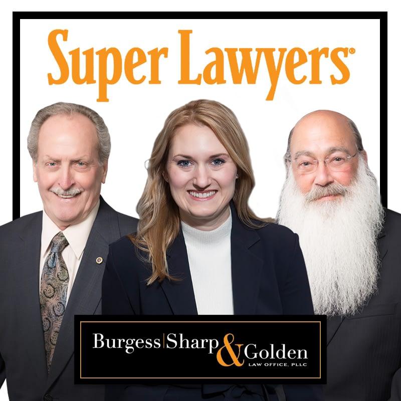 Burgess Sharp & Golden: 2017 Super Lawyers