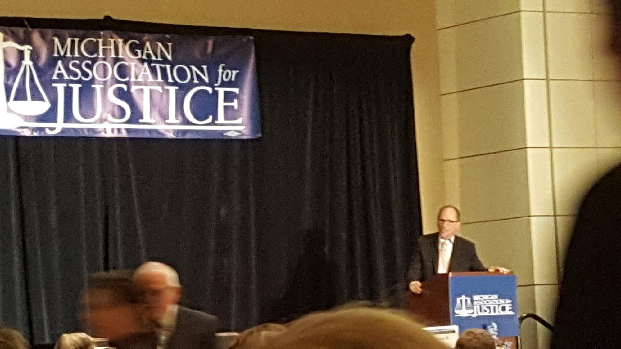 Tom Perez: 2017 Michigan Association for Justice dinner